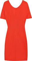 Niki cutout stretch-crepe dress