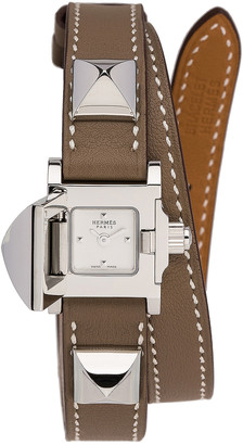 Hermes Medor Mini in Brown | FWRD