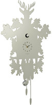 Diamantini Domeniconi Diamantini & Domeniconi - Cucù Clock with Bird - Silver Leaf