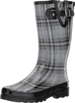 Western Chief Highland Plaid Rain Boot