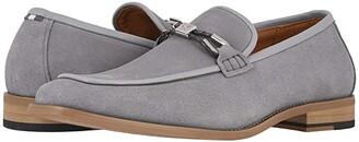 Stacy Adams Colbin Suede Slip-On (Black) Men's Shoes