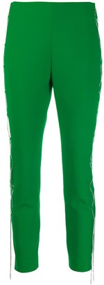 Area Cropped Skinny Trousers
