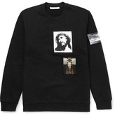 Givenchy Patch-Embellished Cotton-Jersey Sweatshirt