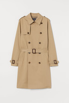 H&M Cotton twill trenchcoat