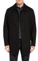 Cole Haan Reversible Wool Blend Overcoat