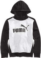 Puma Graphic-Print Colorblock Hoodie, Big Boys (8-20)