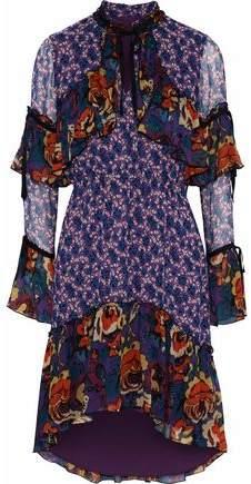 1525e574883d Anna Sui Printed Chiffon Dresses - ShopStyle