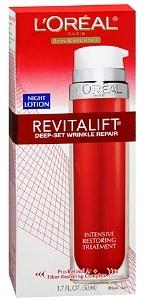L'Oreal Revitalift Deep-Set Wrinkle Repair Night Lotion