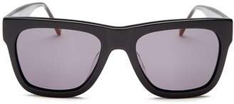 Le Specs Luxe Men's Wrecking Ball Square Sunglasses, 56mm