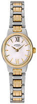 Rotary LB02747/01 Women's Olivie Two Tone Bracelet Strap Watch, Gold/Silver