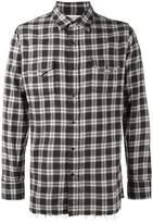 Saint Laurent Classic Western plaid shirt