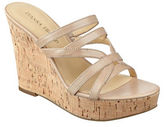 Ivanka Trump Howen Wedge Platform Leather Slide Sandals