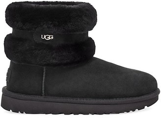UGG Fluff Mini Belted Sheepskin Boots