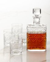 Vista Alegre Avenue Whiskey Decanter and Four Double Old-Fashioneds