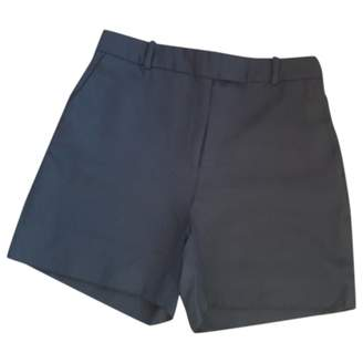 McQ Black Wool Shorts for Women