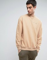 Puma Heritage Sweatshirt In Tan