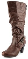 G by Guess Randall Synthetic Knee High Boot, Brown, Size 6.5