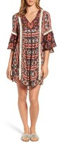 Kas Women's Ruby Ruffle Sleeve Tunic Dress