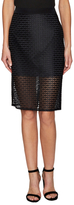 Trina Turk Bretta Lace Knee Length Skirt