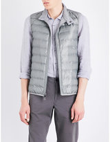 Michael Kors Textured-print Quilted Gilet