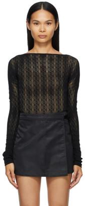 Alyx Black A Knit Bodysuit