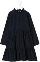 Bonpoint ruffled collar dress
