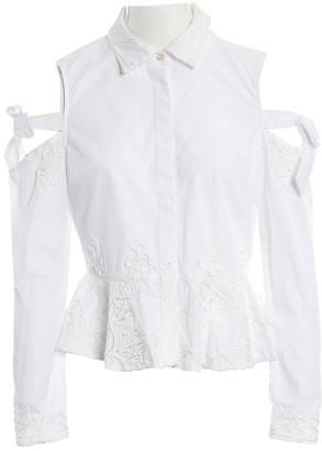 Jonathan Simkhai White Cotton Top for Women