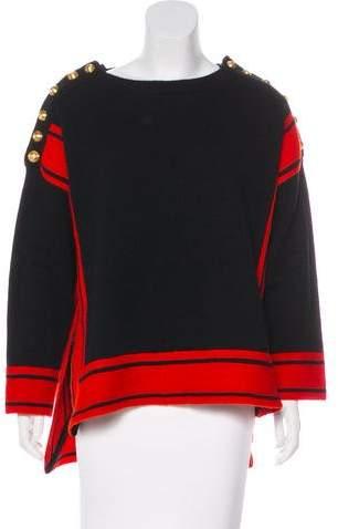 Alexander McQueen Military Cashmere Sweater
