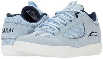 Lakai Carroll (Black/White Suede) Men's Shoes