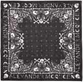 Alexander McQueen - Bandeau noir Skul
