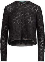 black lace long sleeve cardigan - ShopStyle UK