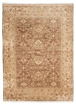 Ecarpetgallery Hand-knotted Caucasus Kula Brown Traditional 8' x 12' 100% Wool kitchen dining room area rug