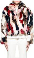 MSGM Patchwork Lapin Fur