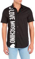 Love Moschino Short Sleeve Logo Shirt