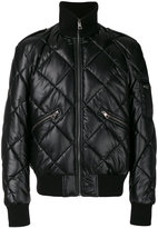 Just Cavalli diamond quilted jacket - men - Polyester/Polyurethane/Spandex/Elastane - 48