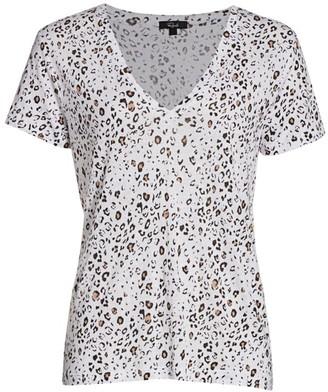 Rails Cara Printed V-Neck T-Shirt