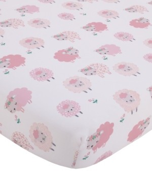 NoJo Farm Chic Little Lambs Fitted Crib Sheet Bedding