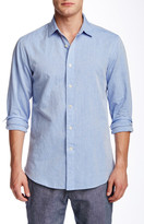 Slate & Stone Trim Fit Long Sleeve Woven Shirt