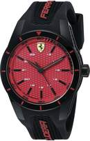 Ferrari Men's 0830248 REDREV Analog Display Japanese Quartz Watch