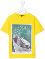Aston Martin Kids - car print T-shirt - kids - Cotton - 2 yrs