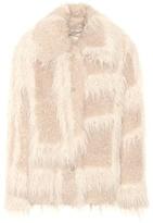 Helmut Lang Faux-fur coat