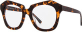 Max Studio Black Tortoise Zyl Clear Lens Frames