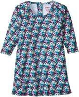 Zutano Raglan Trapeze Dress (Toddler) - Pagoda - 2T