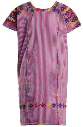 Pippa Holt - No.58 Embroidered Cotton Kaftan - Womens - Pink