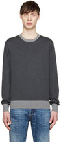 Dolce & Gabbana Grey Two-Tone Pullover