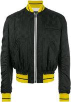 Haider Ackermann zipped bomber jacket - men - Acetate/Viscose/Cotton/Rayon - L