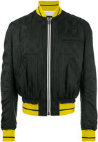 Haider Ackermann zipped bomber jacket - men - Cotton/Acetate/Rayon/Viscose - XS