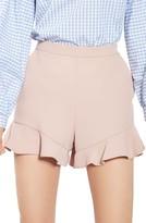 Topshop Women's Frill Hem Shorts