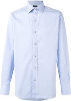 Tom Ford chevron stripe shirt