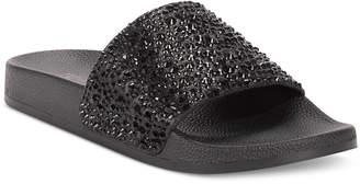 INC International Concepts Inc Women Peymin Pool Slides, Women Shoes